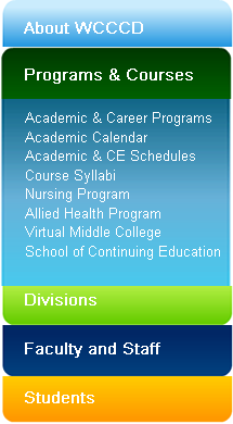 wcccd academic schedules